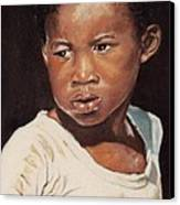 Island Boy Canvas Print by John Clark