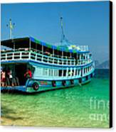 Island Ferry  Canvas Print by Adrian Evans