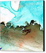 Island Of Hope Canvas Print by Sharon Cummings