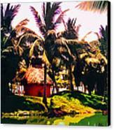 Island Paradise Canvas Print by CHAZ Daugherty