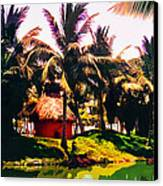 Island Paradise Canvas Print by CHAZ Daugherty
