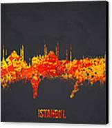 Istanbul Turkey Canvas Print by Aged Pixel