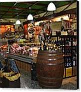Italian Grocery Canvas Print by Dany Lison
