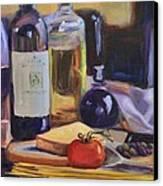 Italian Kitchen Canvas Print by Donna Tuten