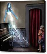 Ivory Ghost Canvas Print by Tom Straub