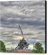 Iwo Jima Memorial - Washington Dc - 01131 Canvas Print by DC Photographer