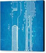 Jack Johnson Wrench Patent Art 1922 Blueprint Canvas Print by Ian Monk