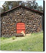 Jack London Stallion Barn 5d22101 Canvas Print by Wingsdomain Art and Photography