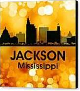 Jackson Ms 3 Canvas Print by Angelina Vick
