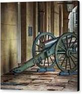 Jackson Square Cannon Canvas Print by Brenda Bryant