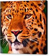 Jaguar Canvas Print by Michael Pickett