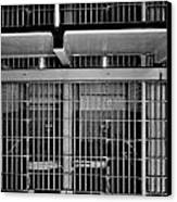 Jail Cells Canvas Print by Benjamin Yeager