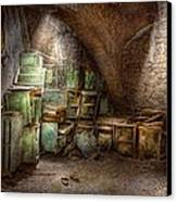 Jail - Eastern State Penitentiary - Cabinet Members  Canvas Print by Mike Savad