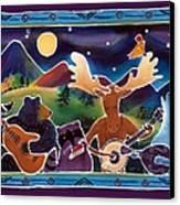 Jamboree Canvas Print by Harriet Peck Taylor