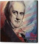James Buchanan Canvas Print by Corporate Art Task Force