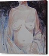 Jane Canvas Print by John  Svenson