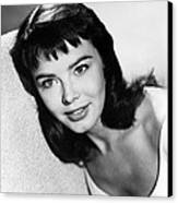 Janet Munro Canvas Print by Silver Screen