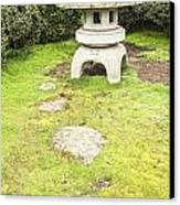 Japanese Stone Lantern Hamilton Gardens New Zealand Canvas Print by Colin and Linda McKie
