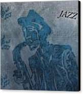 Jazz Man Canvas Print by Dan Sproul
