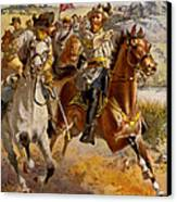 Jeb Stuart Civil War Canvas Print by Henry Alexander Ogden