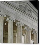 Jefferson Memorial - Washington Dc - 01131 Canvas Print by DC Photographer