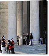 Jefferson Memorial - Washington Dc - 01132 Canvas Print by DC Photographer