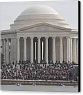 Jefferson Memorial - Washington Dc - 01134 Canvas Print by DC Photographer