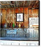 Jersey Lilly Saloon Canvas Print by Avis  Noelle