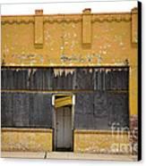 Jesus At The Door Canvas Print by Derry Murphy