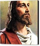 Jesus Christ Canvas Print by Munir Alawi