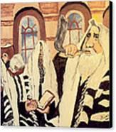 Jewish New Year 2 Canvas Print by Mimi Eskenazi