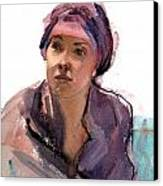 Jocelyn Canvas Print by Mark Lunde