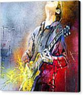 Joe Bonamassa 02 Canvas Print by Miki De Goodaboom