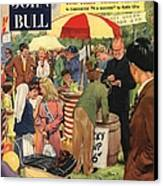 John Bull 1956 1950s Uk Schools Canvas Print by The Advertising Archives