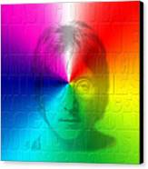 John Lennon 1 Canvas Print by Andrew Fare