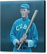 Johnny Evers Canvas Print by Mark Haley