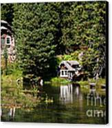 Johnny Sack Cabin Canvas Print by Robert Bales