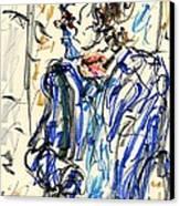 Joker - Bozo Canvas Print by Rachel Scott