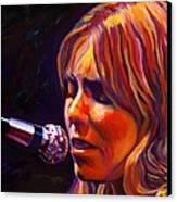 Joni Mitchell..legend Canvas Print by Vel Verrept