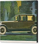 Jordan Line Eight Victoria Car 1925 Canvas Print by The Advertising Archives