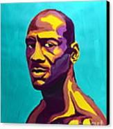 Jordan Canvas Print by LLaura Burge