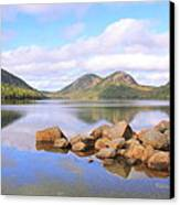 Jordan Pond Canvas Print by Roupen  Baker