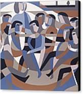 Jordan Quaker Meeting 2 Canvas Print by Ron Waddams
