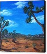 Joshua Tree Desert Canvas Print by Anastasiya Malakhova