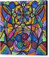 Jovial Optimism Canvas Print by Teal Eye  Print Store