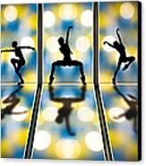 Joy Of Movement Canvas Print by Bob Orsillo