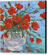 Jubilee Poppies Canvas Print by Catherine Howard