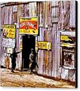 Juke Joint Canvas Print by Benjamin Yeager