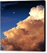 Jupiter's Stormy Sunset Canvas Print by Tharsis  Artworks