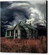 Just Before The Storm Canvas Print by Aimelle
